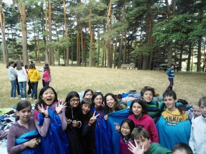 Campamento de Inglés, Naturaleza y Montaña