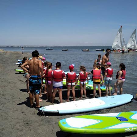 Campamento de Verano con Actividades Náuticas