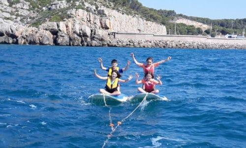 Campamento de verano con Inglés y actividades Náuticas