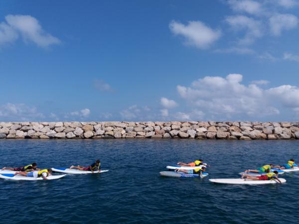 Campamento de Inglés y Watersport en Tamarit
