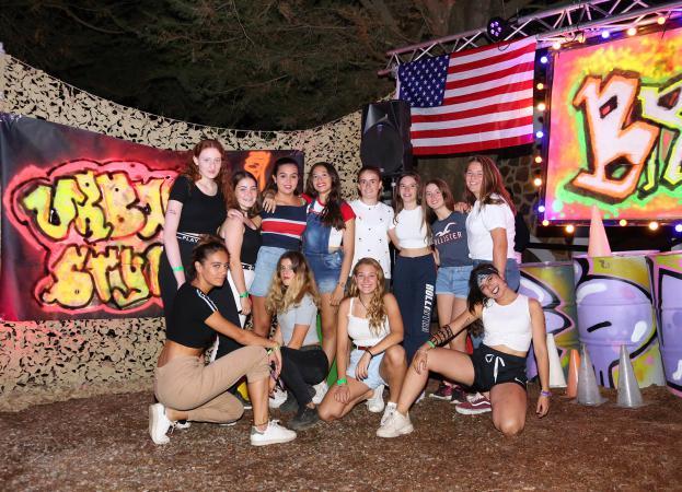 Teenager Camp en Poblet