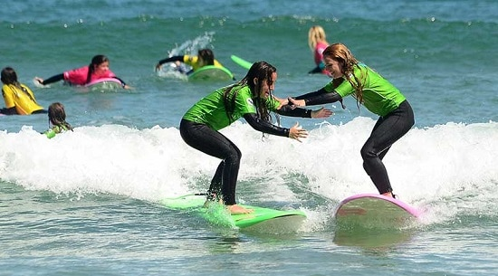 Surf Camp Roxy Solo Chicas