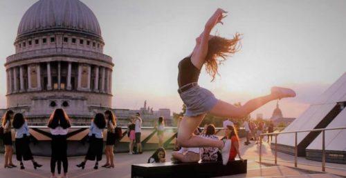 Campamento de baile en Londres