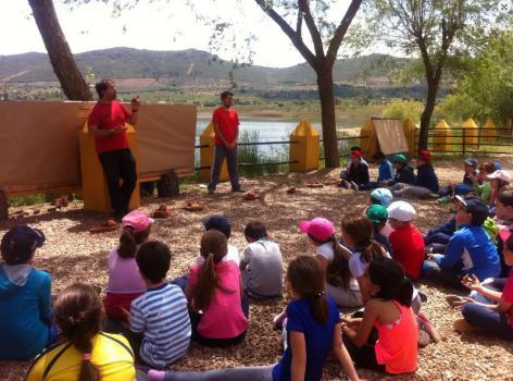 Campamento de baile con deportes acuáticos La Playa del Lago