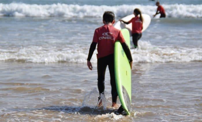 Campamento de Surf en Cantabria