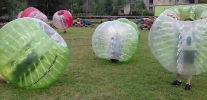Campamento multiaventura familiar