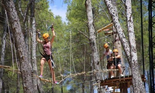 Campamentos de verano Aventura y Náutica en Iznájar