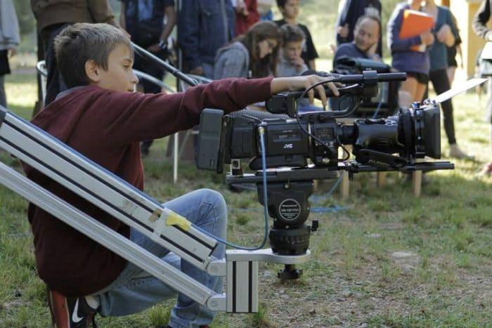 Cine hecho por niños. Haz tu propio cortometraje a nivel profesional