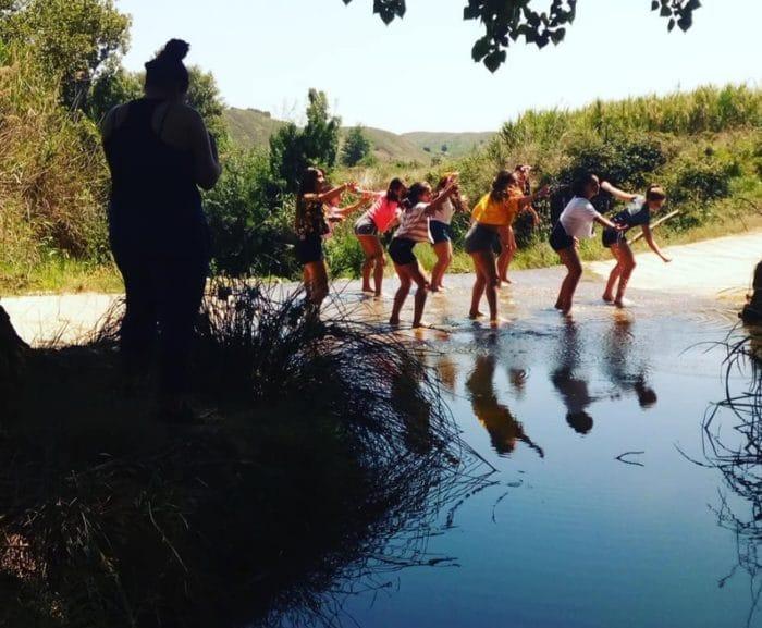 Campamento de Danza