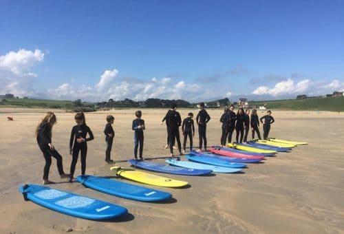 Campamento multiaventura juvenil (surfcamp o vela)