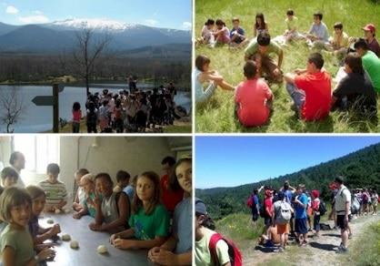 Campamento de Naturaleza e Inglés en la Sierra de Guadarrama