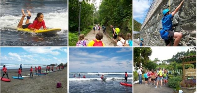 Campamento de aventura y playa Muros de Nalón
