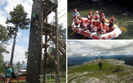 Campamento de Aventura y Montaña en Rialp