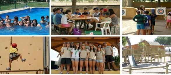 Campamento de Aventura y Deporte (opción inmersión lingüística)