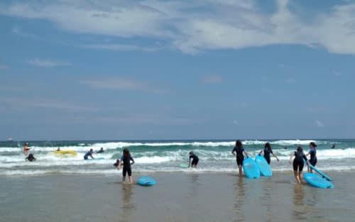 Campamento de Surf e Inglés