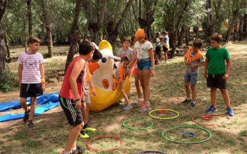 Campamento de verano Sierra de Madrid