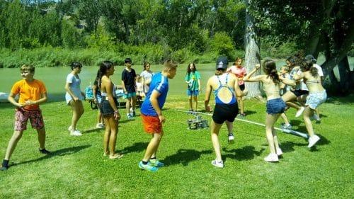 Campamento de verano multiaventura e ingles