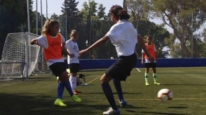 Campamento de futbol masculino y femenino