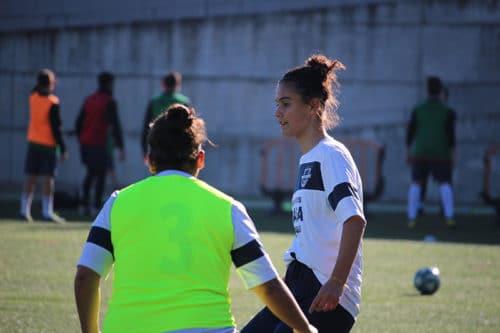 Campamento externo de futbol masculino y femenino