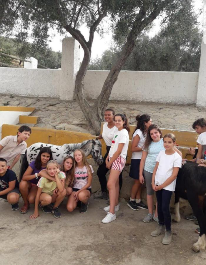 Campamento Granjeros con Equitación y Multiaventura