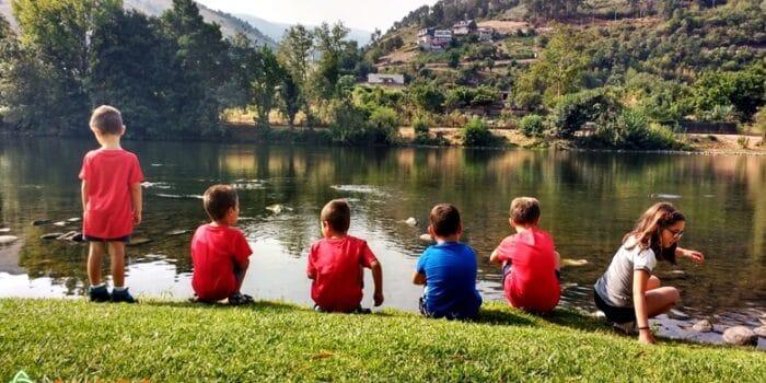 Vacaciones en familia con niños