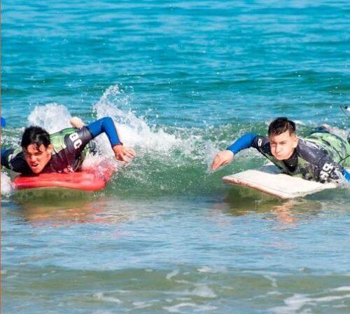 Campus Baloncesto y Surf en Cantabria