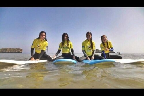 Campamento de verano con surf e inglés Asturias