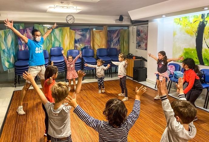 Campamento de teatro en inglés