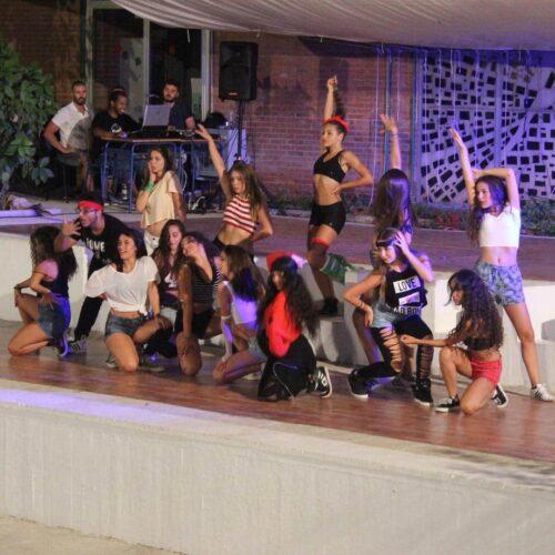 Campamento de baile moderno