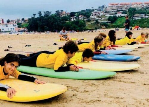 Campamento surf
