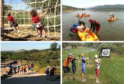 Campamento Multiaventura e Ingles