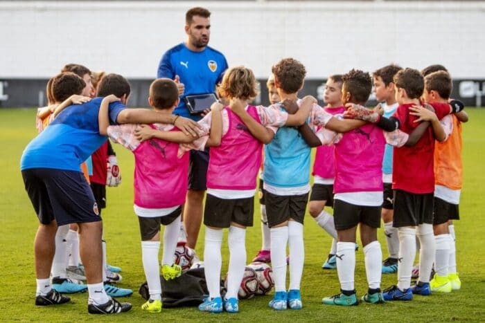 Campus residencial o urbano Fútbol con Valencia CF