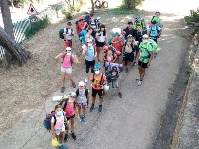 Campamento aventura y naturaleza
