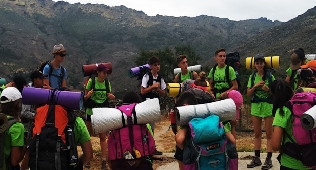 Campamento itinerante
