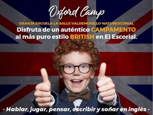 Campamento de inglés  multiaventura