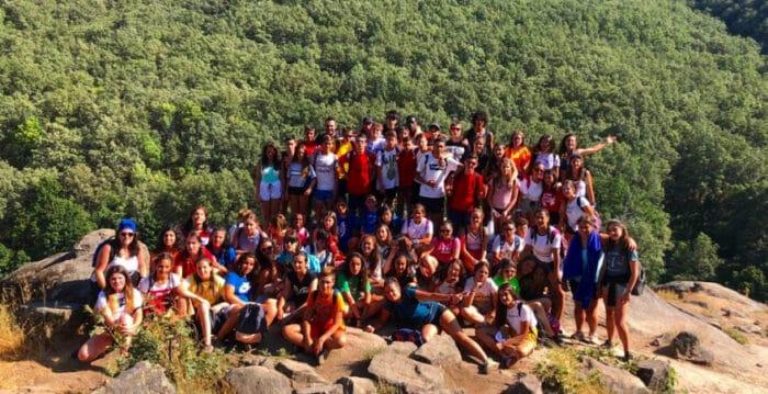 Campamento multiaventura Valle del Jerte