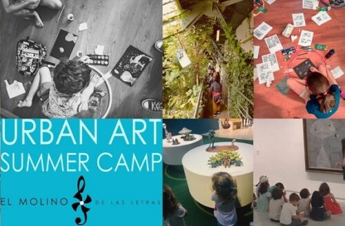 Campamento urbano de arte en Madrid